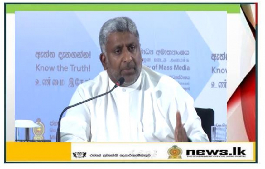 Recommendations to initiate new laws to prevent terrorism– Minister Prasanna Ranatunga