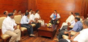 Kandy JVP Activists pledge support to President