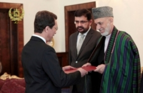 Afghan President accepts credentials of first Lankan Resident Ambassador