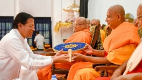 Unitary status and place given to Buddhism in Constitution will not be changed- President