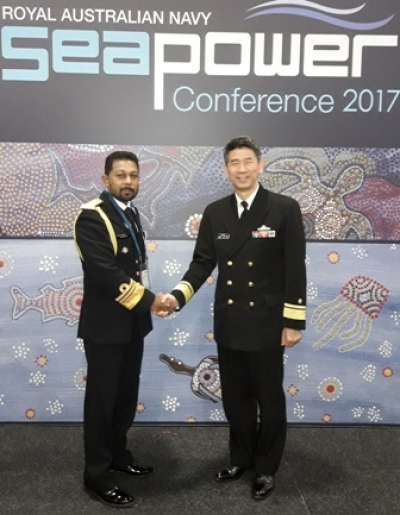Navy Commander attends 'Sea Power Conference' in Australia