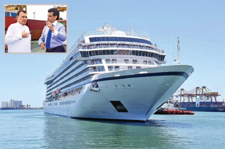 Remarkable growth of cruise ship arrivals at Colombo Port