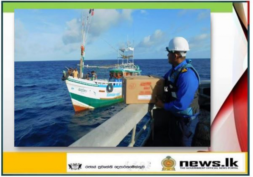 Navy escorts distressed multi-day fishing vessels washed away by cyclonic storm 'Amphan'