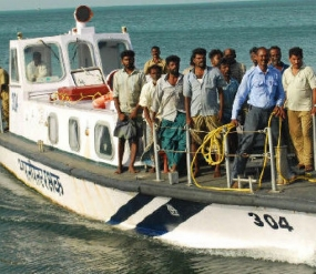 Missing trawler located with seven fishermen
