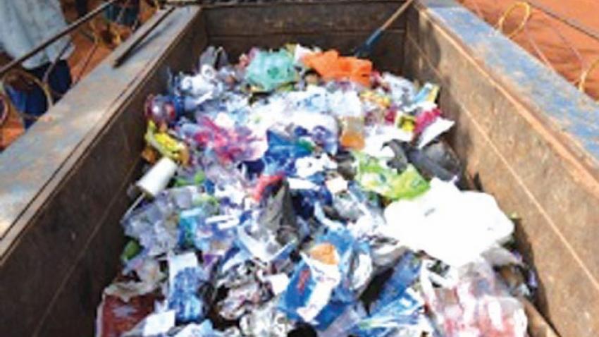 Garbage-free zone in Sigiriya