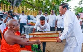 """Gam Peraliya"" initiative to make a huge revolution in villages - President"