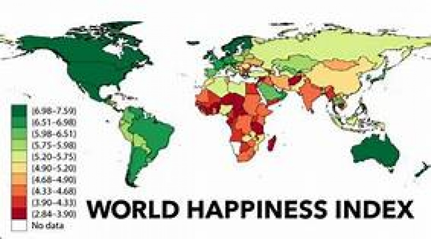 Sri Lanka  rank 130th in World Happiness Index