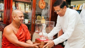 Buddhist policy is to resolve conflicts without destroying lives – President