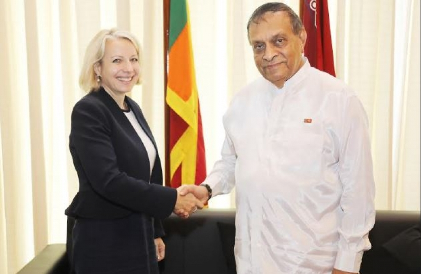 New British High Commissioner Meets the Speaker
