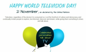 Today is World Television Day