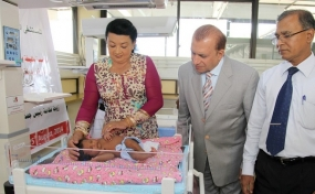 First Lady visits Ragama Teaching Hospital