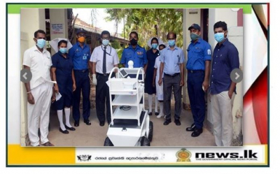 Navy-made another 'Medi Mate' handed over to Negombo District General Hospital