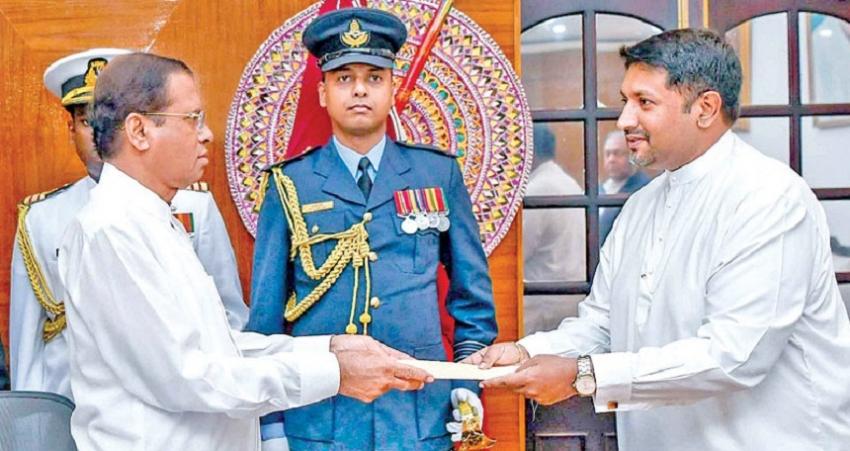 New Mass Media  Minister sworn in