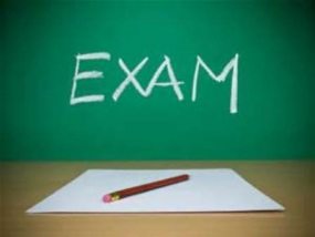 Examinations to be held