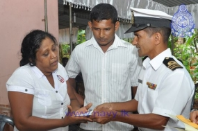Naviru Saviya donates one million to Ordinary Seaman in tragic death