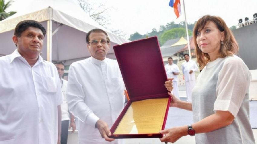 Tripitaka: Proposal handed over to UN
