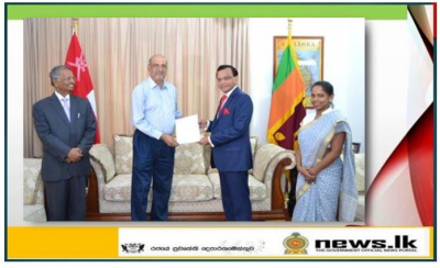 SRI LANKA EMBASSY IN OMAN INITIATES THE FIRST EVER SRI LANKAN EXPORT OF POULTRY PRODUCT TO OMAN