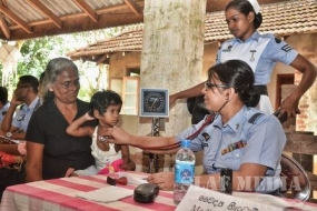 SLAF medical teams assist flood victims