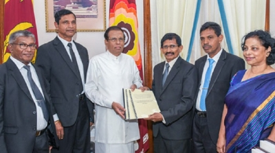 Interim report of inquiry into the  corruption & fraud in Govt. handed over to the President