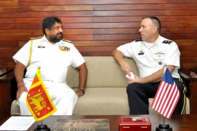U.S Maj Gen. Mark Gillete calls on CDS