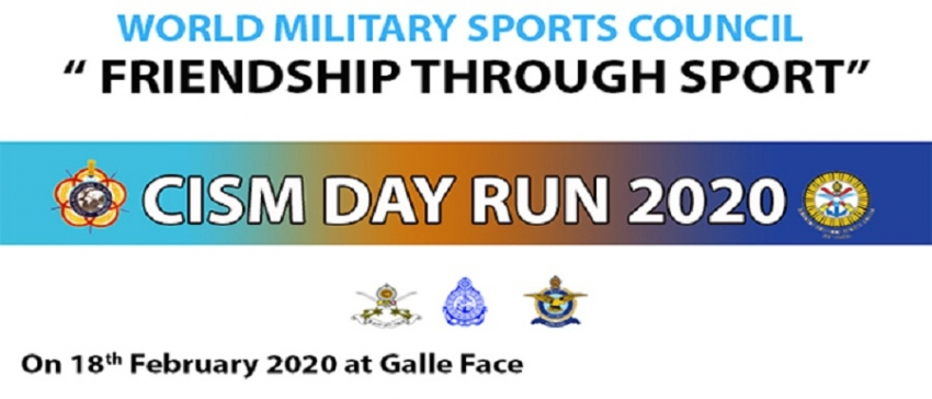International Military Sports Council Day Run in Colombo