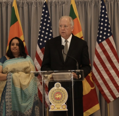US remains proud to Stand with SL as a Friend and Partner - Under Secretary Shannon