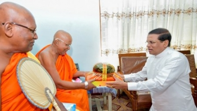 Govt. committed to develop the Buddha Sasana – President