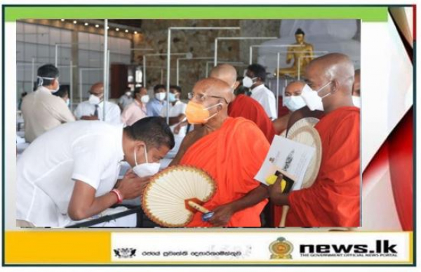 The largest Covid-19 intermediate treatment center in the Central Province handed over to the health sector