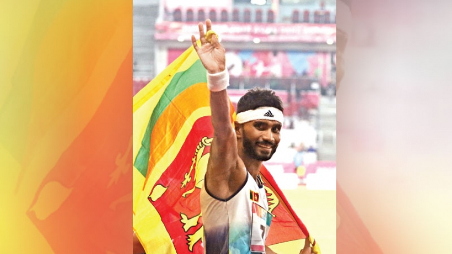 Sri Lanka wins 14 medals and finish 14th