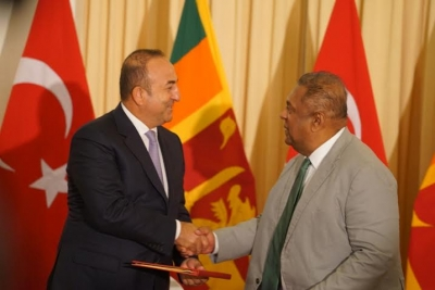 Foreign Minister Mangala Samaraweera's remarks following bilateral talks with Turkish Foreign Minister