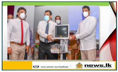 Donation of Rs.12 Million medical equipment to Colombo National Hospital
