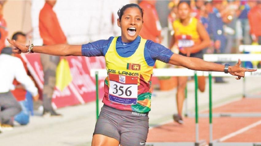 Golden haul of nine lifts Sri Lanka to third position