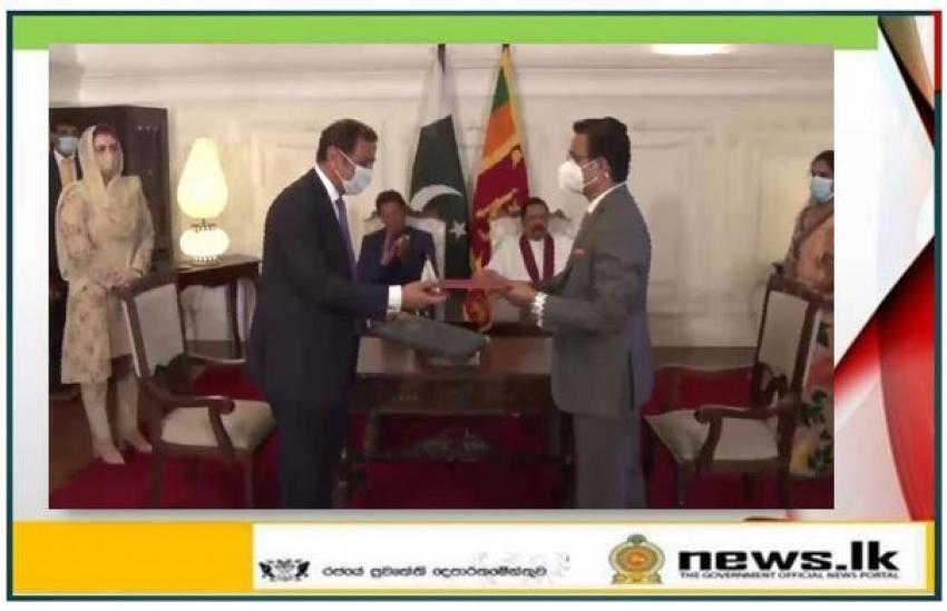 Pakistan and Sri Lanka signed five Memoranda of Understanding