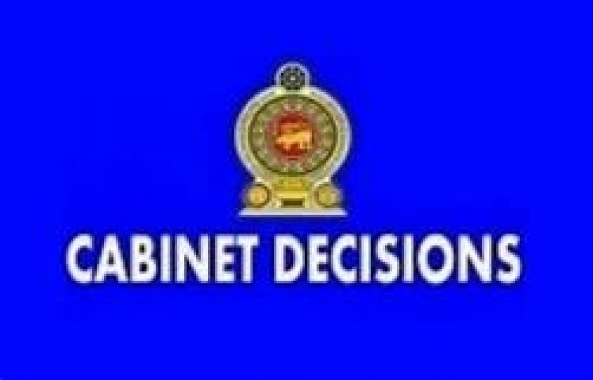 Decisions taken by the Cabinet of Ministers on 05.11.2019