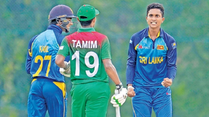 Lanka, Bangladesh under 19 one-dayer ends in no decision