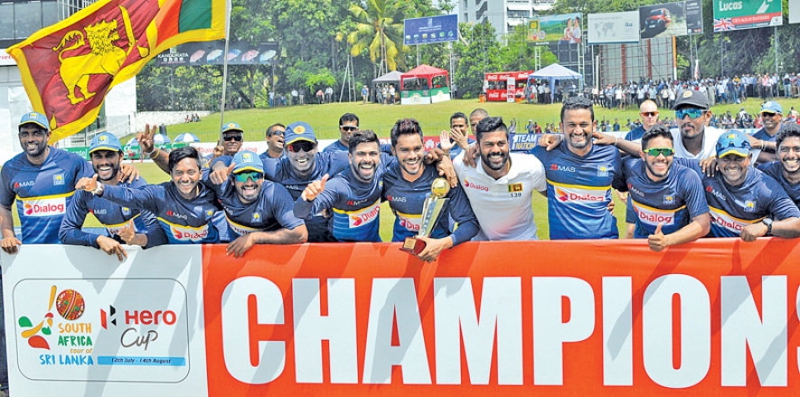 Herath takes six as Sri Lanka complete whitewash of Pro teases