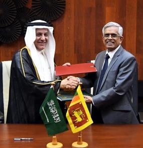 USD 16 Million from the Saudi for Kaluganga Development Project