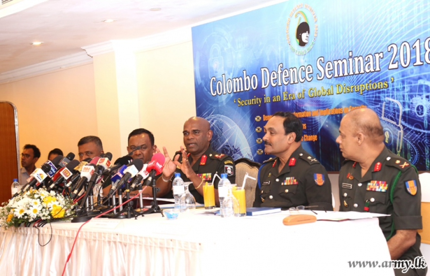 "8th ""Colombo Defence Seminar"" to be held in August"