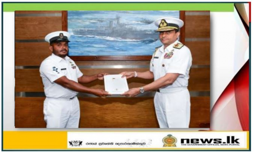 Naval personnel saved injured rescuee of MT New Diamond commended