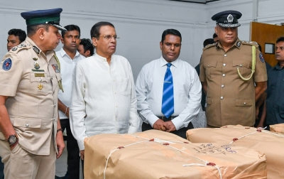 Prez extends gratitude to PNB, STF for seizing largest ever heroin haul