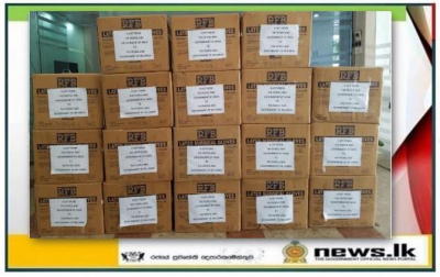 India gifts consignment of medical gloves to Sri Lanka