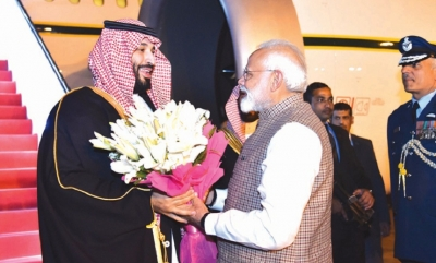 Prince Salman looks for 'good things' from India trip