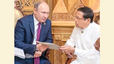 President meets Russian President