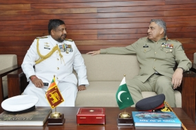 Pakistan Chief of Army Staff calls on CDS