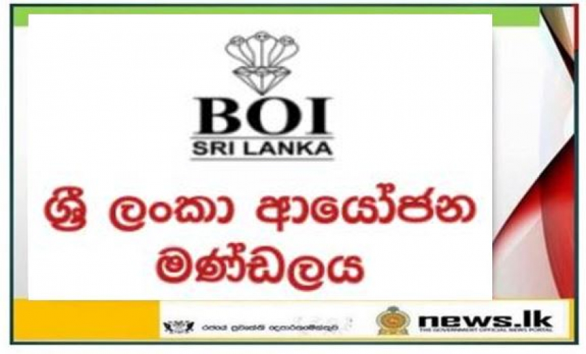 Media Release - Board of Investment of Sri Lanka