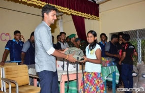 Jaffna University students provide more relief to affected students