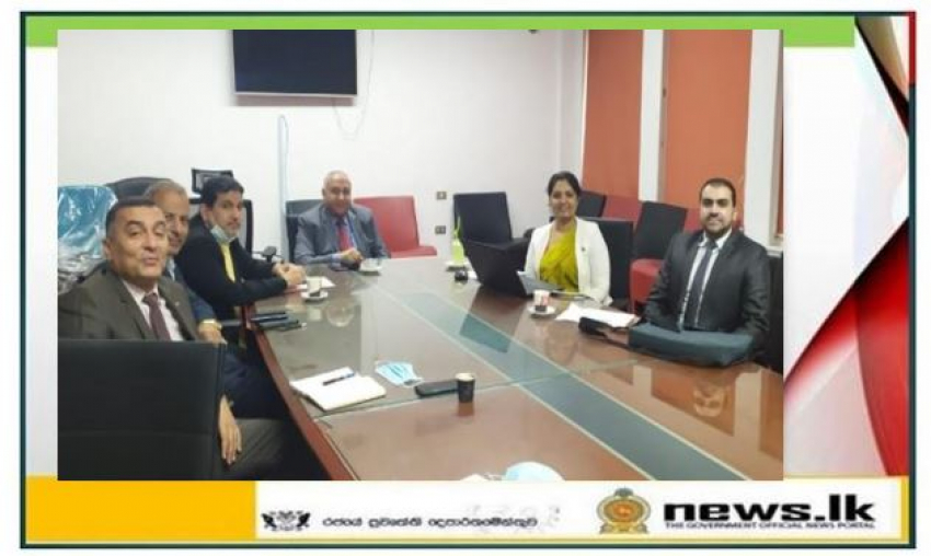 Meeting between the Suez Canal Authority and the Embassy of Sri Lanka in Egypt