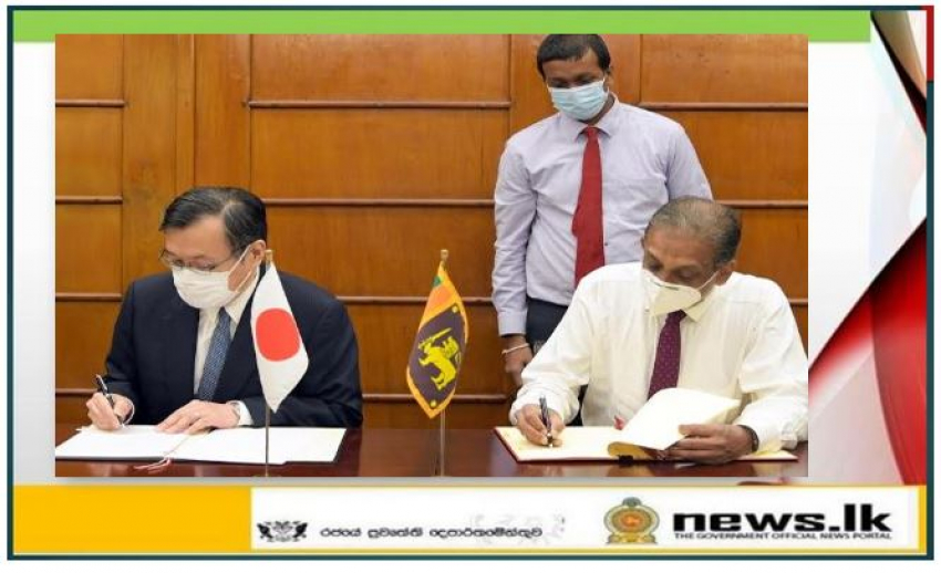 Japan grants JPY 800 million to help Sri Lanka's fight against COVID-19