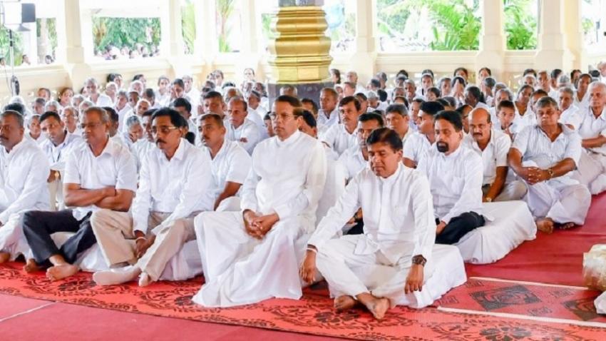 President participates in 54th Dhamma Sabhawa held at Matara