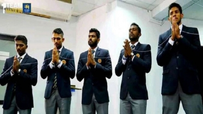 Sri Lanka squad leave for Pakistan